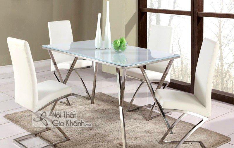 Những mẫu ghế ăn inox đẹp cho bàn ăn nhà bạn - ghe an inox 3