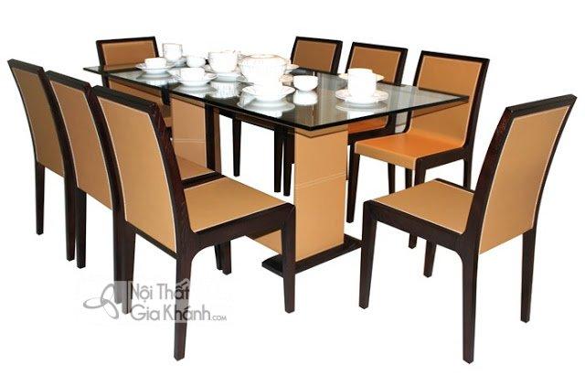 Kích thước bàn ăn 4 người, 6 người, 8 người, 12 người chuẩn 2019 - kich thuoc tieu chuan ban ghe an 3