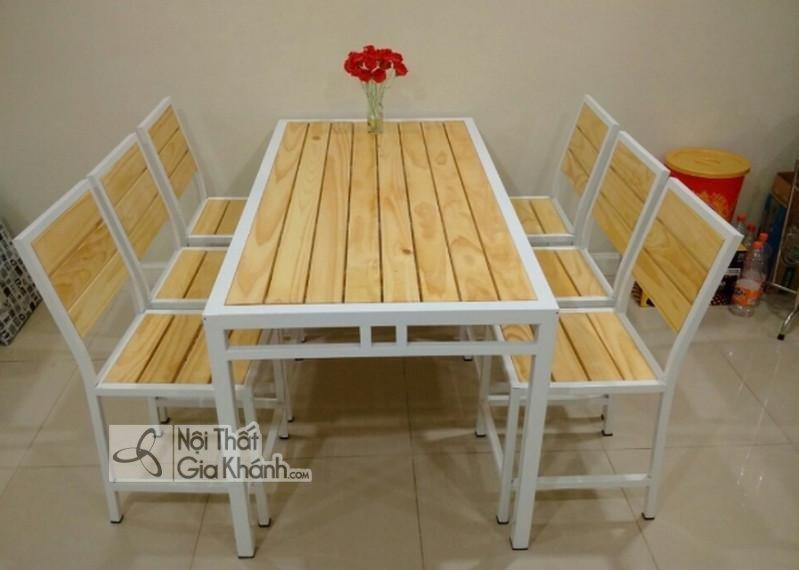 Mẫu bàn ghế quán ăn dành cho giới trẻ