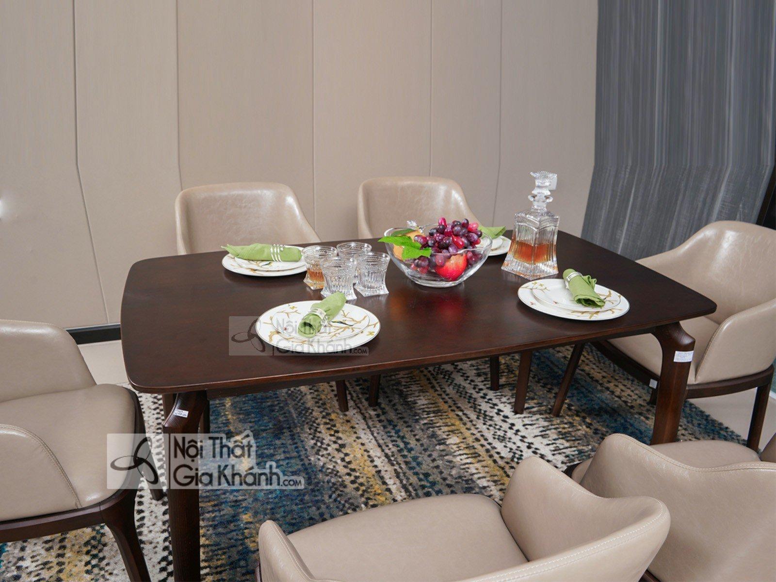 Tuyển tập mẫu bàn ăn gỗ đỏ đẹp sang trọng - tuyen tap mau ban an go do dep sang trong 1