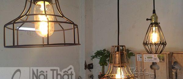 8 mẫu đèn chùm trang trí quán cà phê độc đáo - 8 mau den chum trang tri quan ca phe doc dao 7