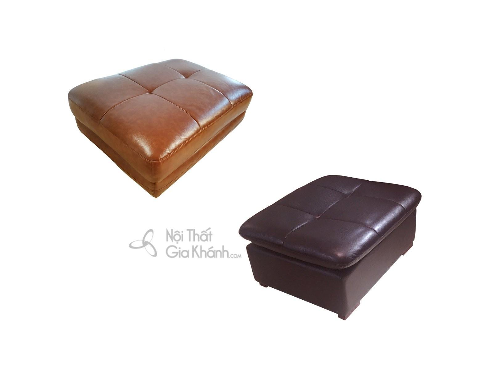 Sofa góc bằng da bò 2 băng nhập khẩu cao cấp SF902-2B - bo sofa 2 bang da bo nhap khau cao cap sf919 2b