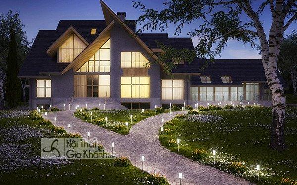 Bố trí đèn sân vườn như thế nào cho hợp lý - bo tri den san vuon nhu the nao cho hop ly 2