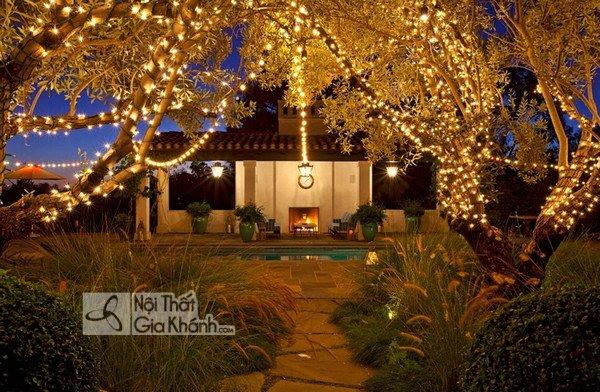 Bố trí đèn sân vườn như thế nào cho hợp lý