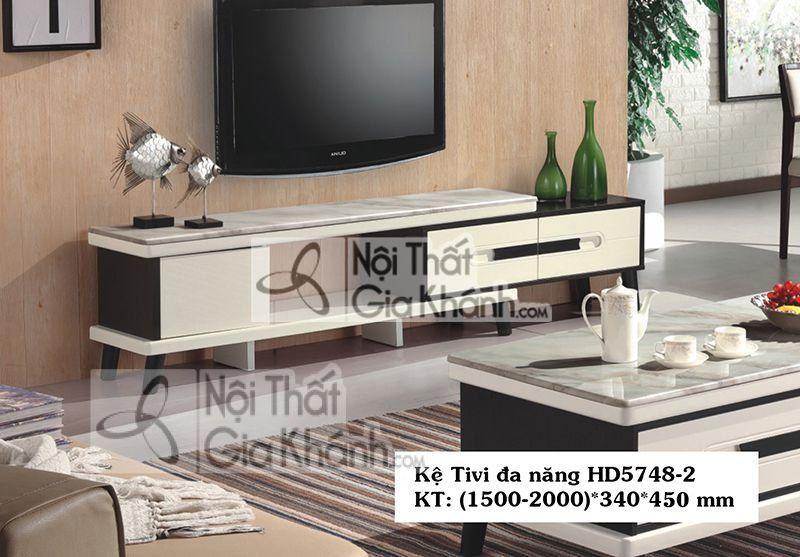 Kệ tivi mặt đá nhập khẩu – HD5748-2
