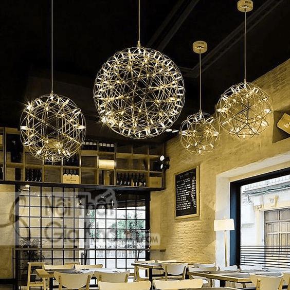 Cách lựa chọn đèn thả quán cafe theo phong cách thiết kế - cach lua chon den tha quan cafe theo phong cach thiet ke 8