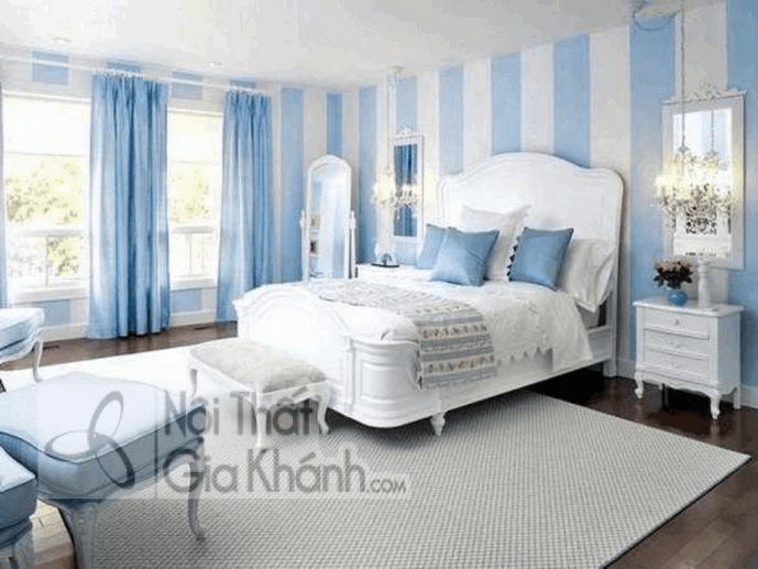 phòng ngủ nên chọn các gam màu nhẹ nhàng