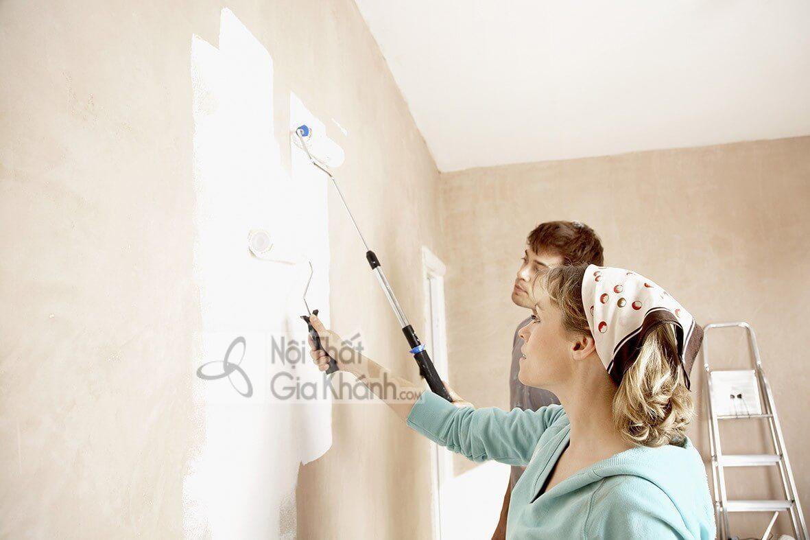 """Cách sơn nhà cũ """"hô biến"""" thành nhà mới - cach son nha cu ho bien thanh nha moi"""