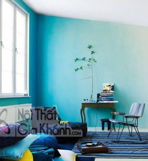 Cách sơn tường đẹp và sáng tạo