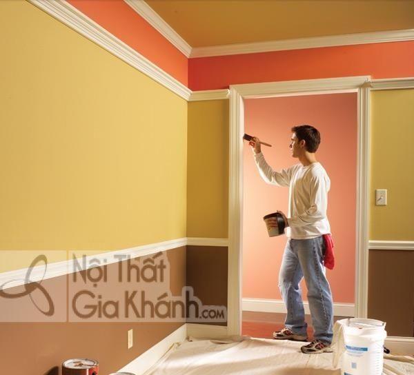Cách tự sơn tại nhà đẹp mà tiết kiệm - cach tu son tai nha dep ma tiet kiem