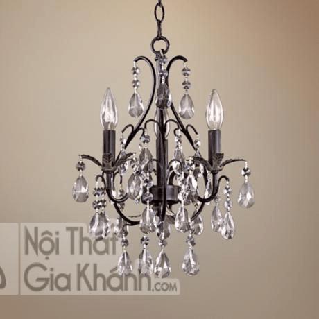 Nhỏ gọn, tinh tế và khác lạ, mẫu đèn chùm này phù hợp với phong cách tân cổ điển
