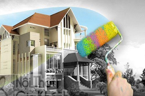 Dịch vụ sơn nhà trọn gói có đắt không phụ thuộc vào nhiều yếu tố
