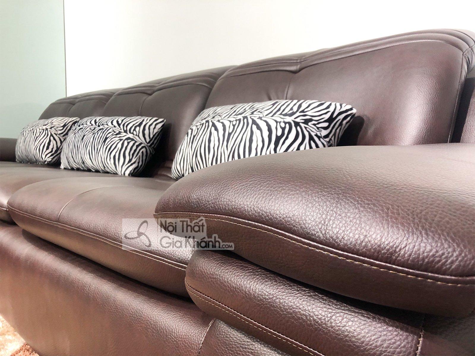 Ghế sofa da phòng khách hiện đại SP0902-2-D1