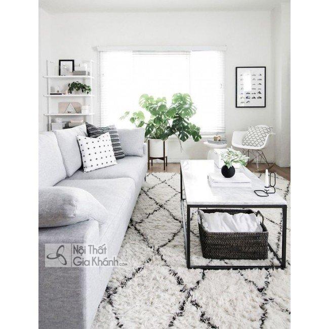 Kích thước bàn trà bàn sofa phòng khách tiêu chuẩn - kich thuoc ban tra ban sofa tieu chuan
