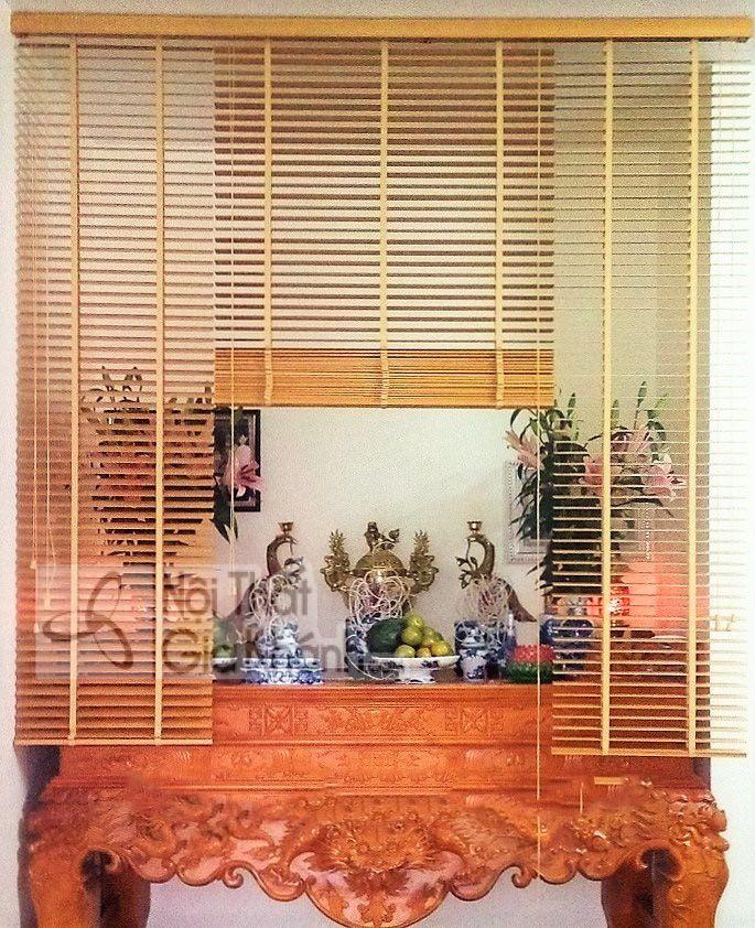 Mẫu rèm che phòng thờ được chuyên gia tâm linh khuyên chọn - mau rem che phong tho duoc chuyen gia tam linh khuyen chon 2