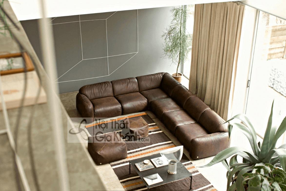 Mẹo trang trí phòng khách với ghế sofa màu nâu - meo trang tri phong khach voi ghe sofa mau nau 12