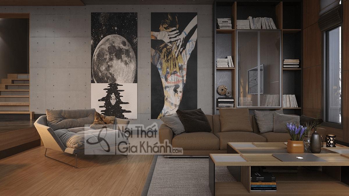 Mẹo trang trí phòng khách với ghế sofa màu nâu - meo trang tri phong khach voi ghe sofa mau nau 13