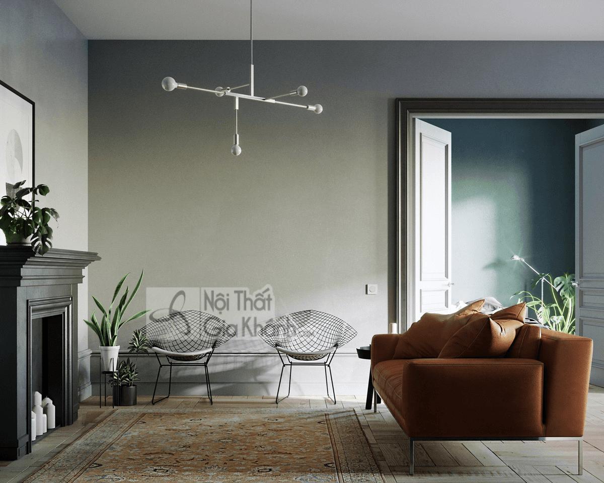 Mẹo trang trí phòng khách với ghế sofa màu nâu - meo trang tri phong khach voi ghe sofa mau nau 22