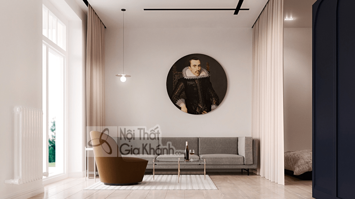 Mẹo trang trí phòng khách với ghế sofa màu nâu - meo trang tri phong khach voi ghe sofa mau nau 26