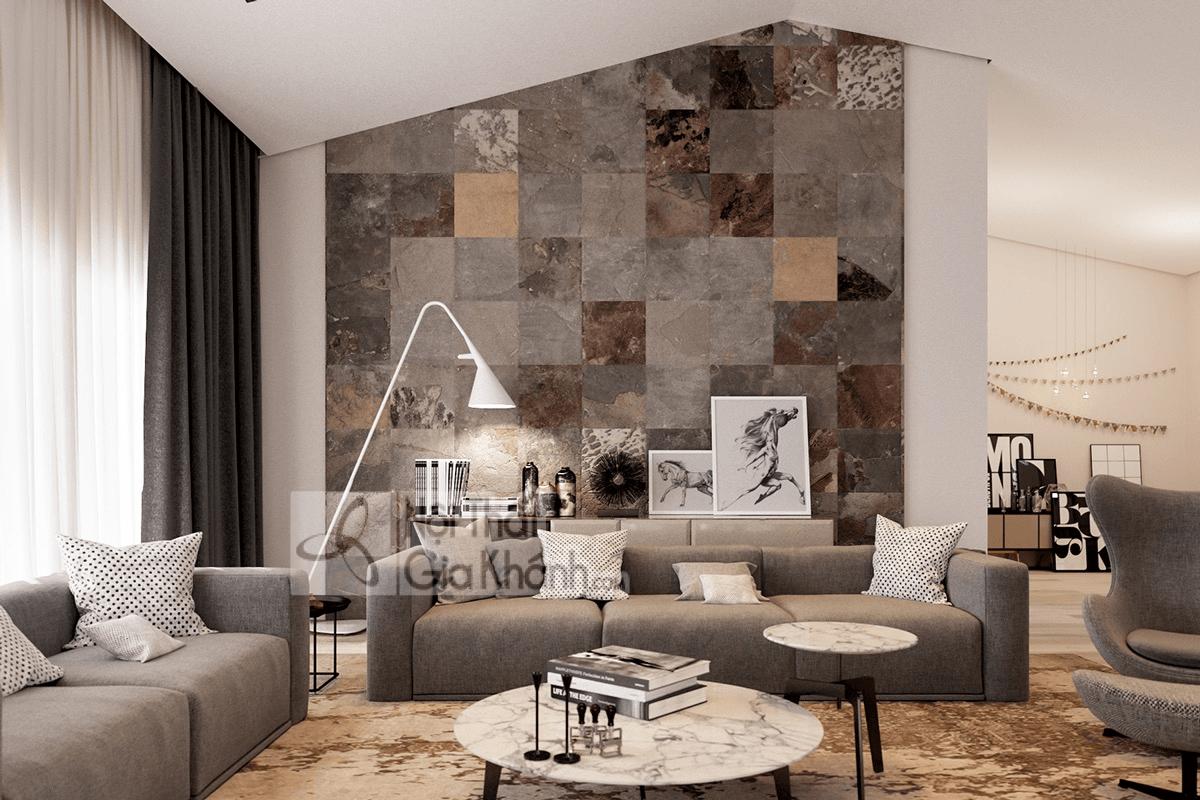 Mẹo trang trí phòng khách với ghế sofa màu nâu - meo trang tri phong khach voi ghe sofa mau nau 27