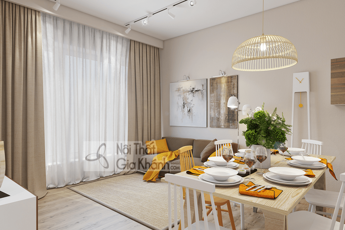 Mẹo trang trí phòng khách với ghế sofa màu nâu - meo trang tri phong khach voi ghe sofa mau nau 28