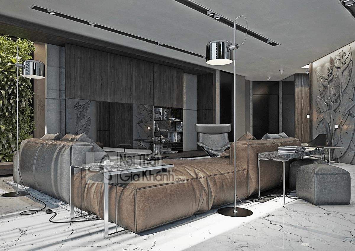 Mẹo trang trí phòng khách với ghế sofa màu nâu - meo trang tri phong khach voi ghe sofa mau nau 4