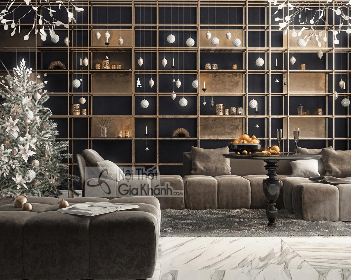 Mẹo trang trí phòng khách với ghế sofa màu nâu - meo trang tri phong khach voi ghe sofa mau nau 5
