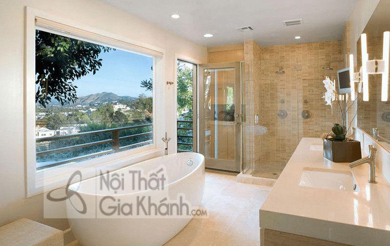 Những cách trang trí phòng tắm đẹp thơ mộng - nhung cach trang tri phong tam dep tho mong 3