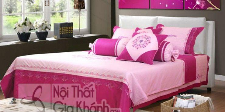 """Phòng ngủ đẹp cho vợ chồng """"màu hường"""" lãng mạn - phong ngu dep cho vo chong mau huong lang ma 2"""