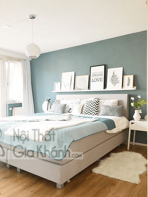Phòng ngủ sơn màu gì để được ngon giấc?