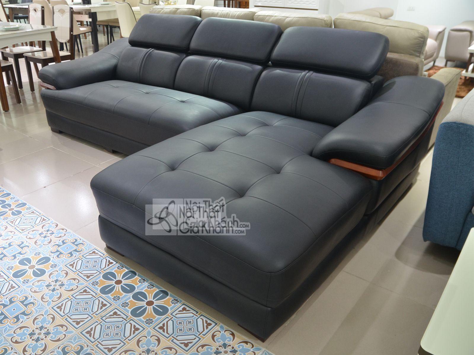 Sofa da phòng khách 6725D-SF