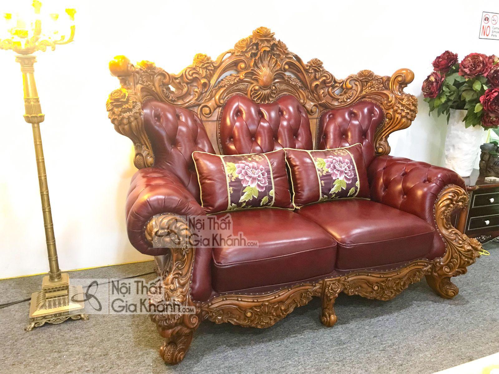 Sofa băng 2 tân cổ điển Hoàng Gia Pháp 926SF-2