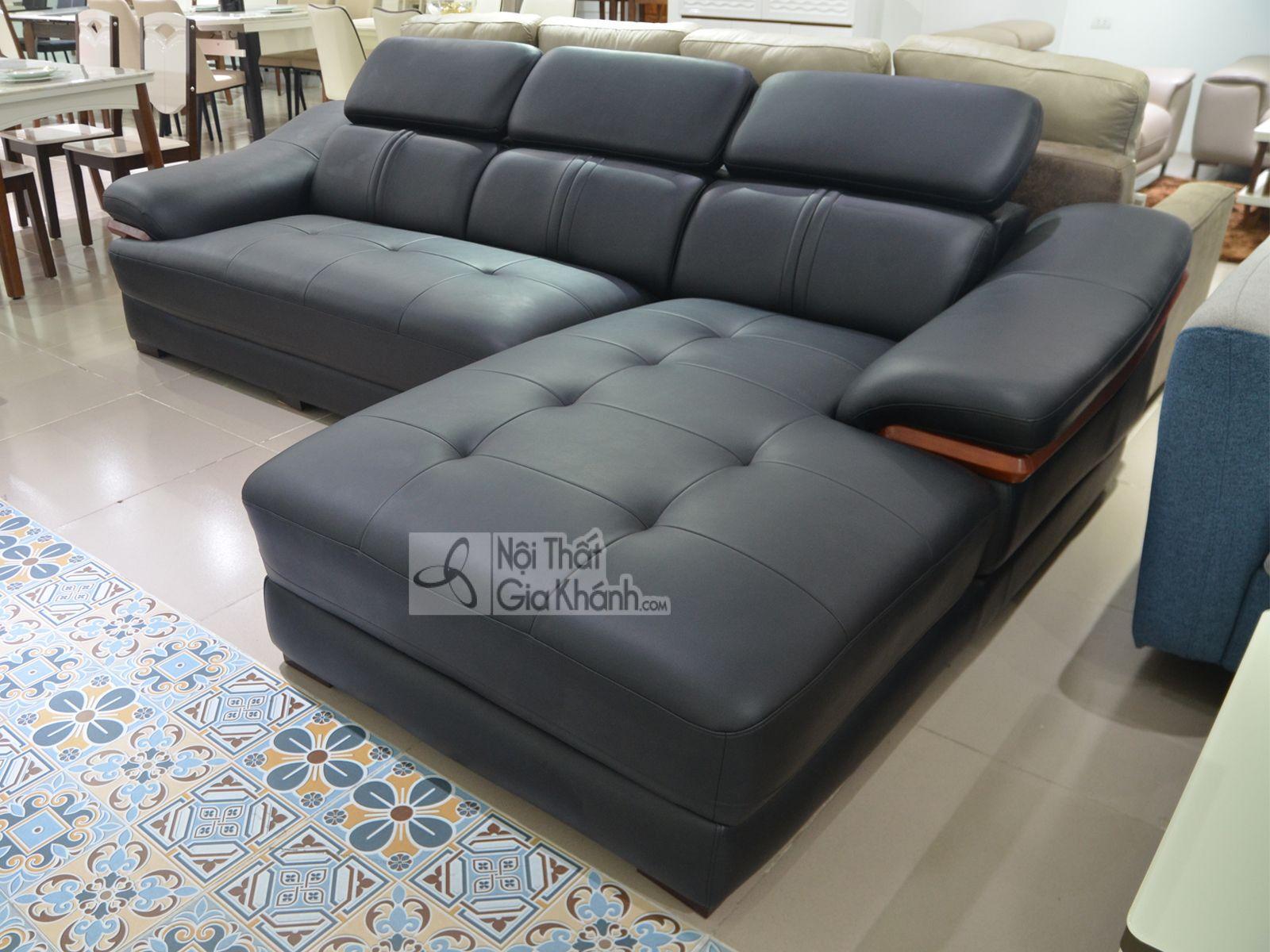 sofa da phong khach 6725d sf 1 - Sofa da 2 băng góc trái ST0672-2-C1