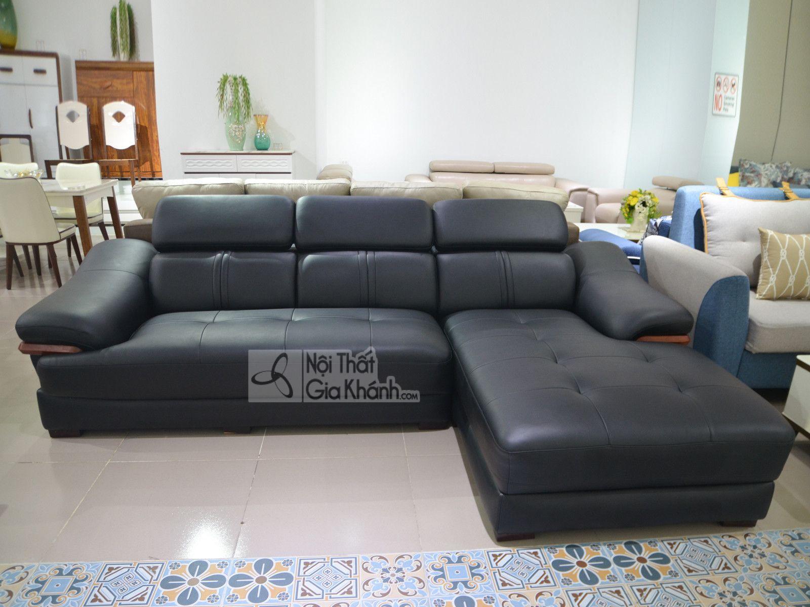 sofa da phong khach 6725d sf - Sofa da 2 băng góc trái ST0672-2-C1