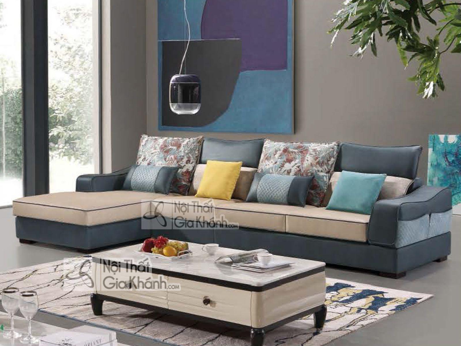 Mẫu ghế Sofa vải nỉ tân cổ điển