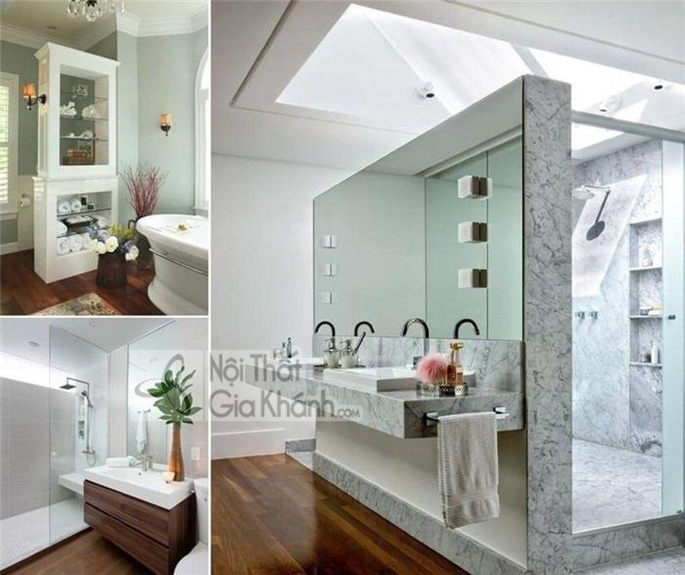 Vách ngăn phòng tắm nên chọn loại nào cho bền mà đẹp