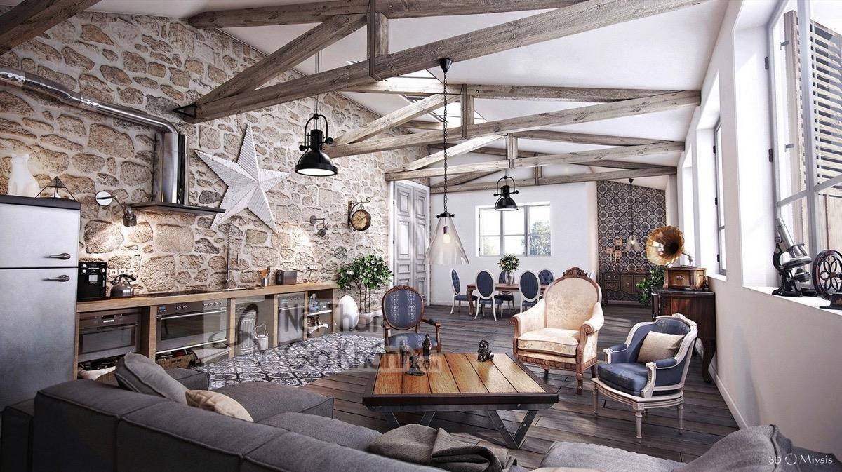12 Ý tưởng và hướng dẫn chi tiết để thiết kế phòng khách mộc mạc