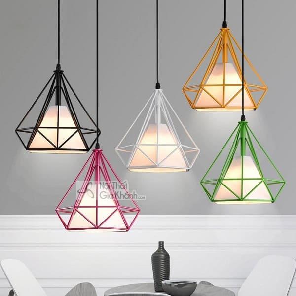 BST mẫu đèn thả kim cương đẹp cho trang trí nội thất - bst mau den tha kim cuong dep cho trang tri noi that 1
