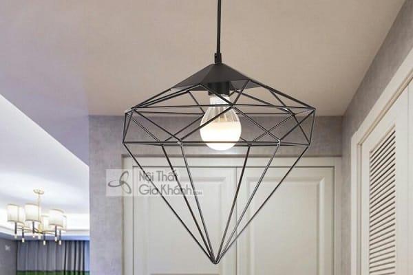 BST mẫu đèn thả kim cương đẹp cho trang trí nội thất - bst mau den tha kim cuong dep cho trang tri noi that 2