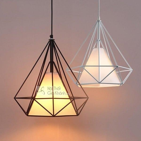 BST mẫu đèn thả kim cương đẹp cho trang trí nội thất - bst mau den tha kim cuong dep cho trang tri noi that