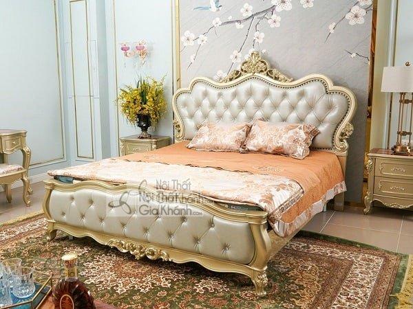 Chiêm ngưỡng những mẫu giường ngủ phong cách châu Âu - chiem nguong nhung mau giuong ngu phong cach chau au 8