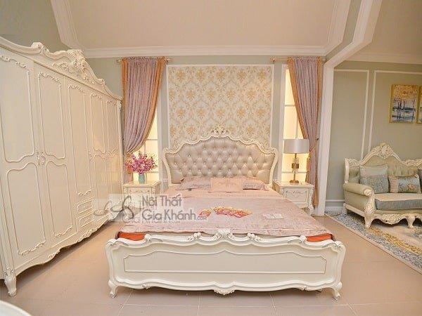 Chiêm ngưỡng những mẫu giường ngủ phong cách châu Âu - chiem nguong nhung mau giuong ngu phong cach chau au 9