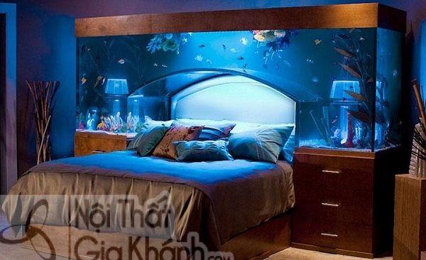 Đặt bể cá trong phòng khách thế nào mới hợp phong thủy - dat be ca trong phong khach the nao moi hop phong thuy 1