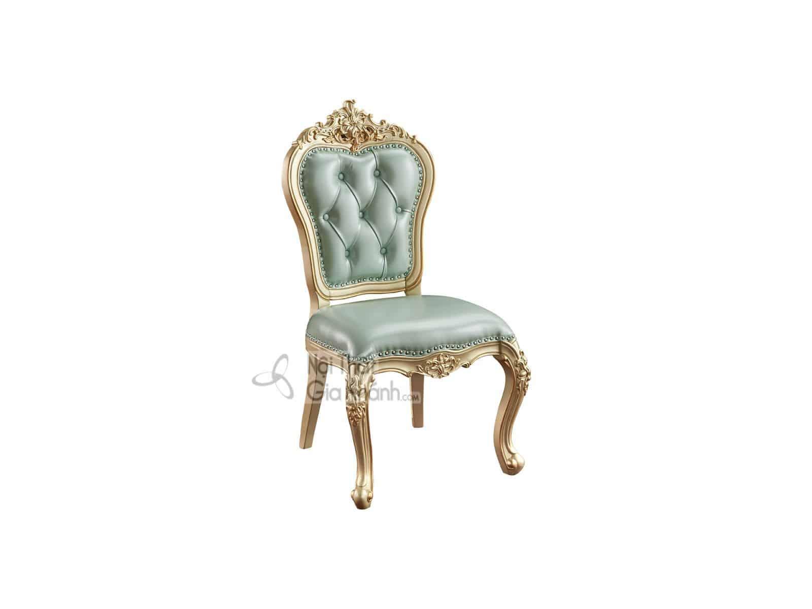 Ghế ăn không tay gỗ phong cách tân cổ điển GA8805A