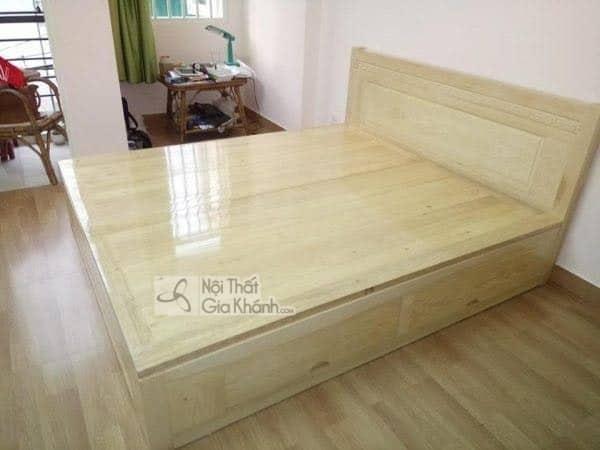 giường ngủ gỗ sồi 2m