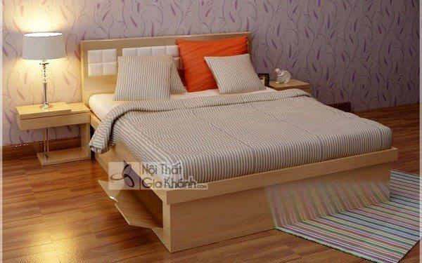 Mẫu giường ngủ gỗ sồi tân cổ điển