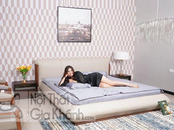 Giường ngủ cho vợ chồng mới cưới đẹp và ưa chuộng nhất năm 2019
