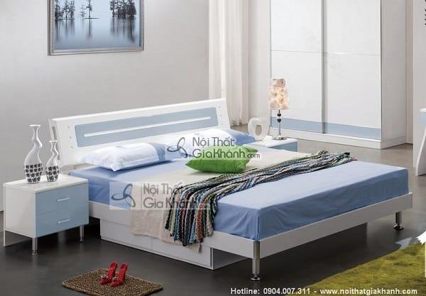Mẫu giường hộp gỗ tự nhiên và giường kết hợp tủ đồ tiện lợi - mau giuong hop go tu nhien go cong nghiep cao cap 13