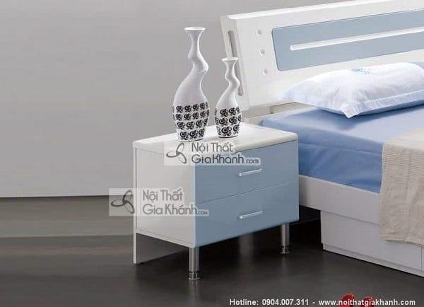 Mẫu giường hộp gỗ tự nhiên và giường kết hợp tủ đồ tiện lợi - mau giuong hop go tu nhien go cong nghiep cao cap 14