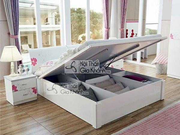 Mẫu giường hộp gỗ tự nhiên và giường kết hợp tủ đồ tiện lợi - mau giuong hop go tu nhien go cong nghiep cao cap 3